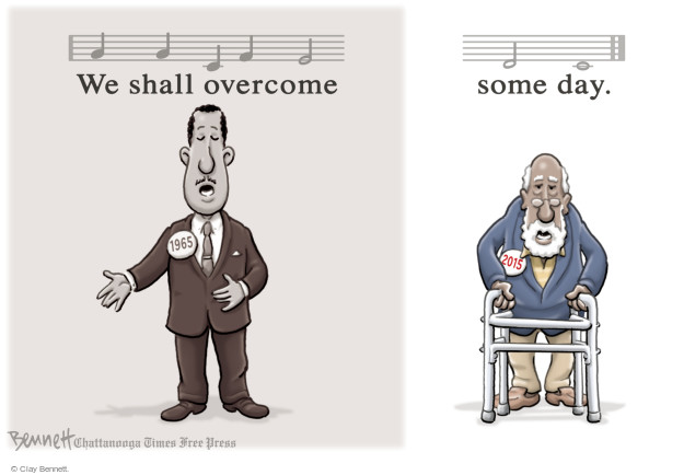 Clay Bennett  Clay Bennett's Editorial Cartoons 2015-03-09 voting rights