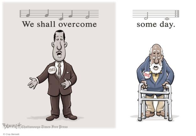 Cartoonist Clay Bennett  Clay Bennett's Editorial Cartoons 2015-03-09 American History