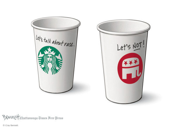 Clay Bennett  Clay Bennett's Editorial Cartoons 2015-03-20 racism