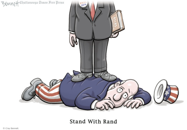Cartoonist Clay Bennett  Clay Bennett's Editorial Cartoons 2015-04-07 book