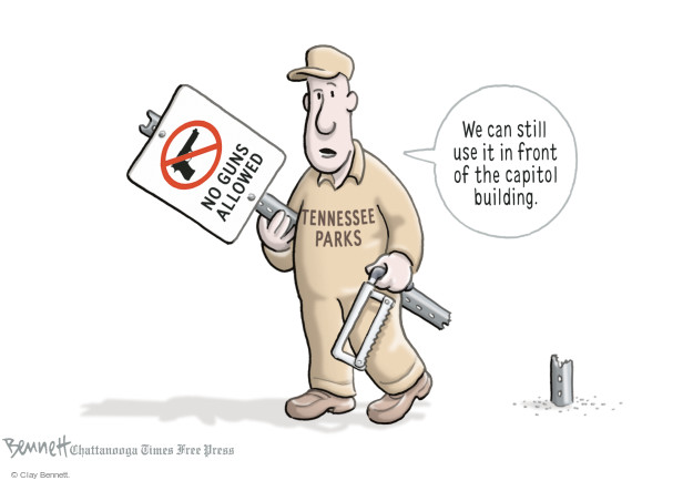 Cartoonist Clay Bennett  Clay Bennett's Editorial Cartoons 2015-04-08 building