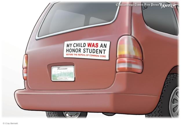 Clay Bennett  Clay Bennett's Editorial Cartoons 2015-04-24 parent
