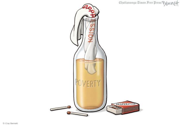 Clay Bennett  Clay Bennett's Editorial Cartoons 2015-04-29 economy