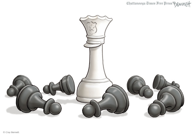 Clay Bennett  Clay Bennett's Editorial Cartoons 2015-04-30 racism
