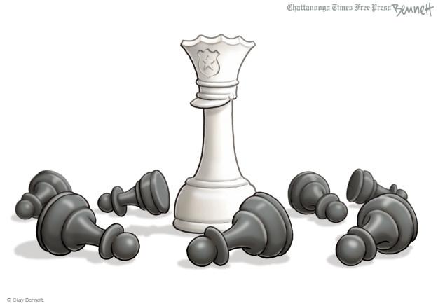 Cartoonist Clay Bennett  Clay Bennett's Editorial Cartoons 2015-04-30 black