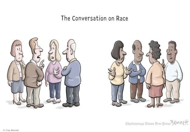Cartoonist Clay Bennett  Clay Bennett's Editorial Cartoons 2015-05-04 race