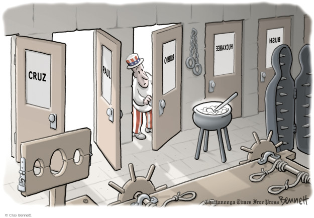 Clay Bennett  Clay Bennett's Editorial Cartoons 2015-05-06 human rights
