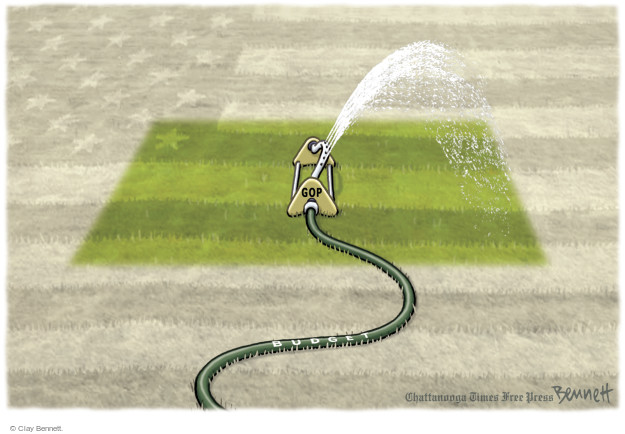 Clay Bennett  Clay Bennett's Editorial Cartoons 2015-05-14 budget
