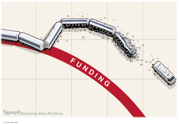 Clay Bennett  Clay Bennett's Editorial Cartoons 2015-05-15 infrastructure