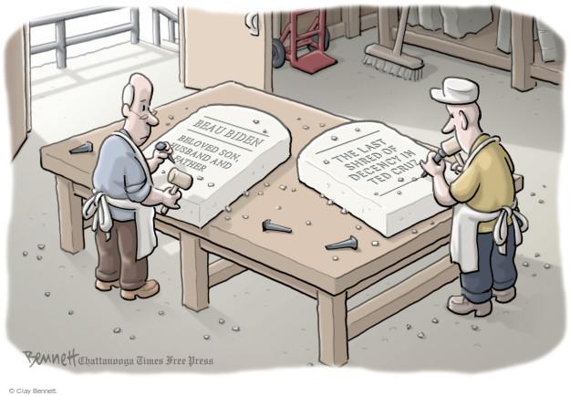Clay Bennett  Clay Bennett's Editorial Cartoons 2015-06-08 Joe Biden