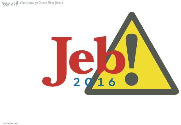 Clay Bennett  Clay Bennett's Editorial Cartoons 2015-06-16 presidential election