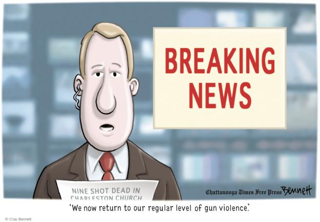 Cartoonist Clay Bennett  Clay Bennett's Editorial Cartoons 2015-06-19 south