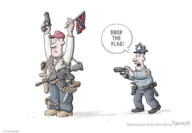 Cartoonist Clay Bennett  Clay Bennett's Editorial Cartoons 2015-06-25 political symbol