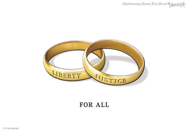 Cartoonist Clay Bennett  Clay Bennett's Editorial Cartoons 2015-06-27 gay