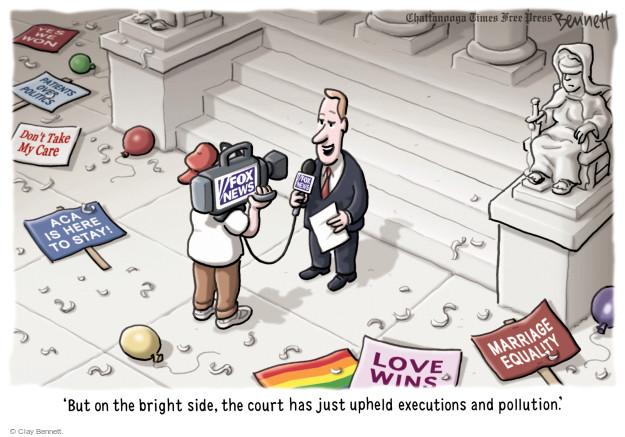 Cartoonist Clay Bennett  Clay Bennett's Editorial Cartoons 2015-06-30 gay