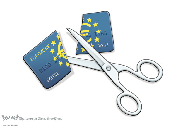 Clay Bennett  Clay Bennett's Editorial Cartoons 2015-07-07 economy
