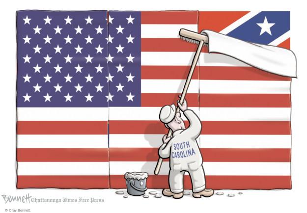 Cartoonist Clay Bennett  Clay Bennett's Editorial Cartoons 2015-07-10 American History