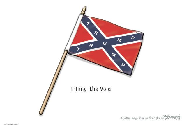Cartoonist Clay Bennett  Clay Bennett's Editorial Cartoons 2015-07-13 confederate flag