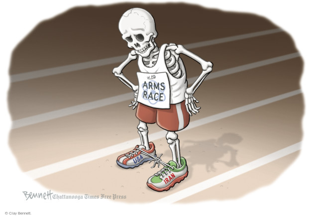 Cartoonist Clay Bennett  Clay Bennett's Editorial Cartoons 2015-07-15 Iran