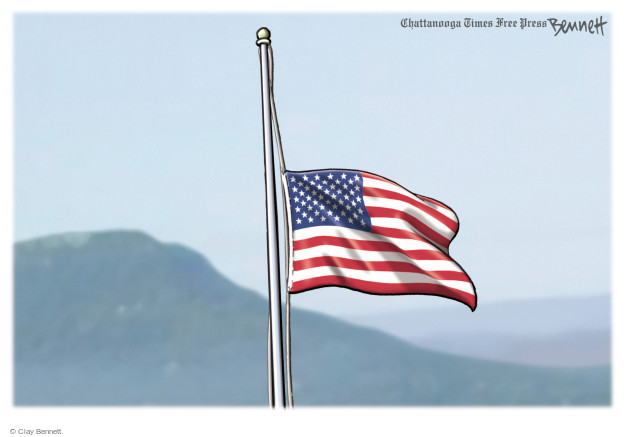 Cartoonist Clay Bennett  Clay Bennett's Editorial Cartoons 2015-07-17 Marines