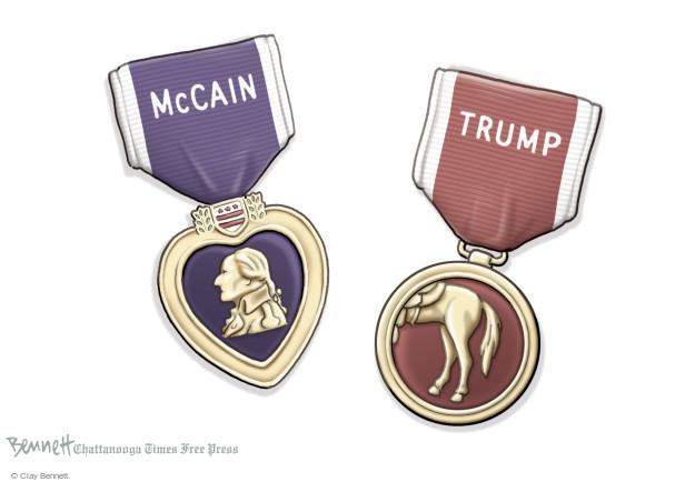 McCain. Trump.