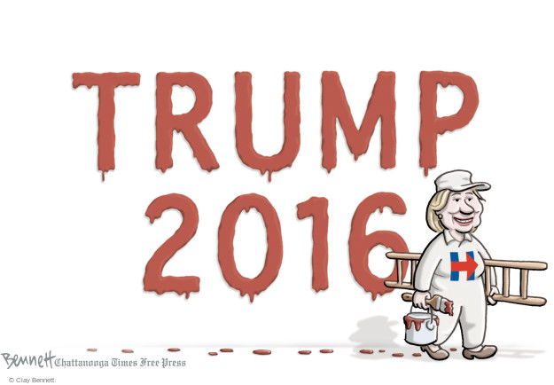 Cartoonist Clay Bennett  Clay Bennett's Editorial Cartoons 2015-07-22 state election