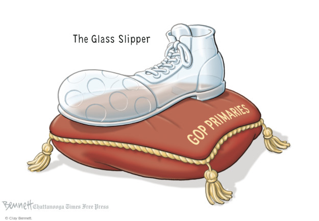 Cartoonist Clay Bennett  Clay Bennett's Editorial Cartoons 2015-08-07 shoe