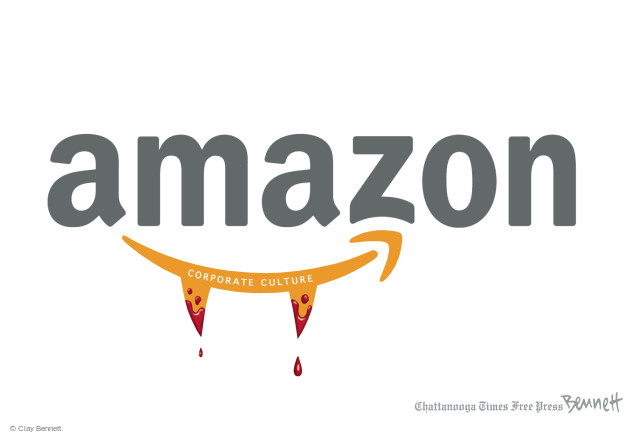 Cartoonist Clay Bennett  Clay Bennett's Editorial Cartoons 2015-08-18 tech