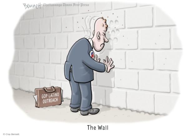Cartoonist Clay Bennett  Clay Bennett's Editorial Cartoons 2015-08-21 Republican voter