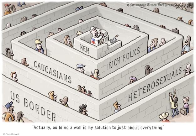 Cartoonist Clay Bennett  Clay Bennett's Editorial Cartoons 2015-09-08 building