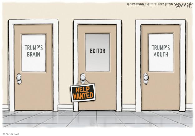 Clay Bennett  Clay Bennett's Editorial Cartoons 2015-09-11 Donald