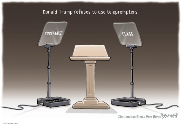 Clay Bennett  Clay Bennett's Editorial Cartoons 2015-09-16 2016 Republican Debate