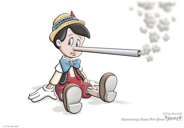 Cartoonist Clay Bennett  Clay Bennett's Editorial Cartoons 2015-09-22 lie