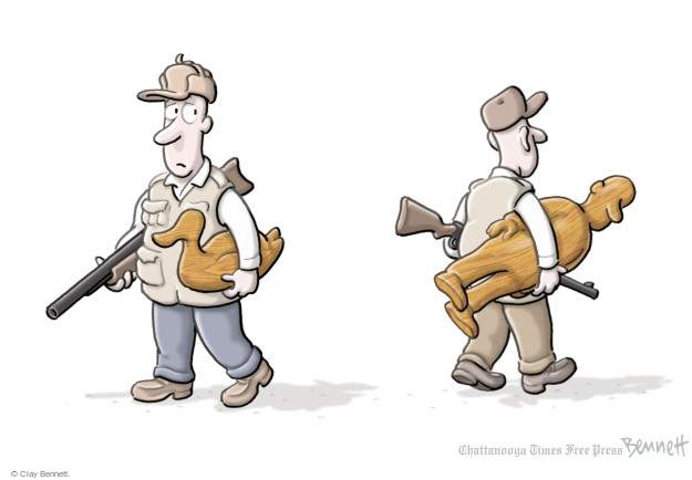 Cartoonist Clay Bennett  Clay Bennett's Editorial Cartoons 2015-10-12 gunman