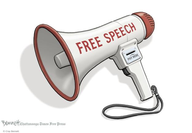 Clay Bennett  Clay Bennett's Editorial Cartoons 2015-10-13 speech