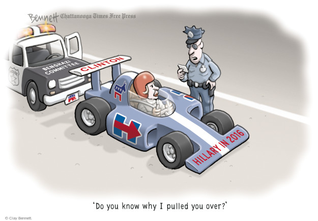 Cartoonist Clay Bennett  Clay Bennett's Editorial Cartoons 2015-10-19 state election
