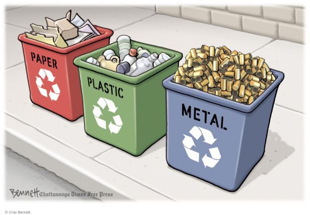 Cartoonist Clay Bennett  Clay Bennett's Editorial Cartoons 2015-10-21 ammo