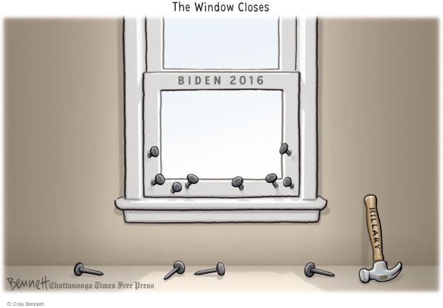 Clay Bennett  Clay Bennett's Editorial Cartoons 2015-10-22 2016 Election Joe Biden