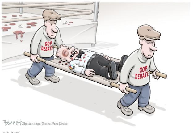 Clay Bennett  Clay Bennett's Editorial Cartoons 2015-10-30 boxing