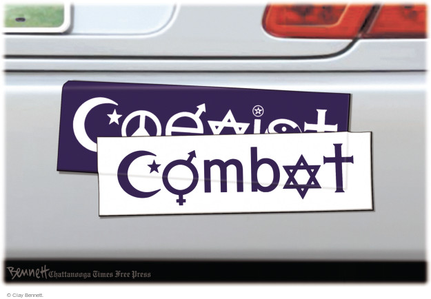 Coexist. Combat.