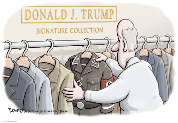 Cartoonist Clay Bennett  Clay Bennett's Editorial Cartoons 2015-12-09 primary election