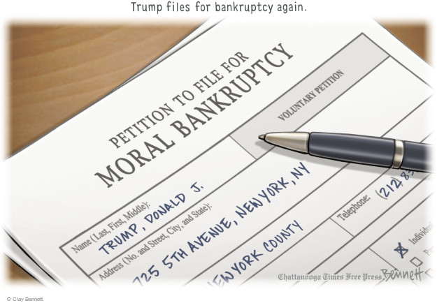Clay Bennett  Clay Bennett's Editorial Cartoons 2015-12-10 middle name