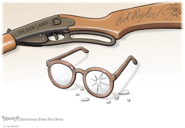 Clay Bennett  Clay Bennett's Editorial Cartoons 2015-12-21 laws