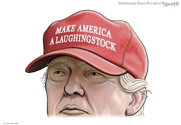 Clay Bennett  Clay Bennett's Editorial Cartoons 2015-12-23 Donald