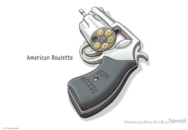 Cartoonist Clay Bennett  Clay Bennett's Editorial Cartoons 2016-01-06 bullet