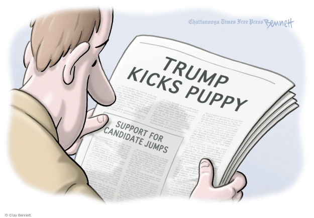 Cartoonist Clay Bennett  Clay Bennett's Editorial Cartoons 2016-01-11 opinion