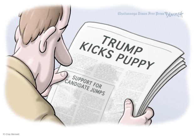 Clay Bennett  Clay Bennett's Editorial Cartoons 2016-01-11 Donald