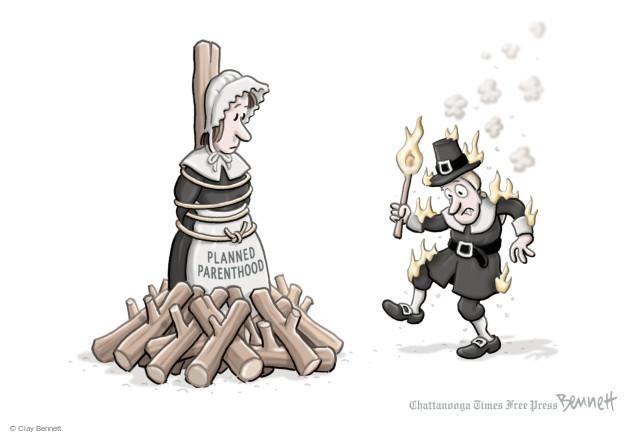 Clay Bennett  Clay Bennett's Editorial Cartoons 2016-01-27 flame