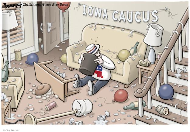 Clay Bennett  Clay Bennett's Editorial Cartoons 2016-02-02 aftermath