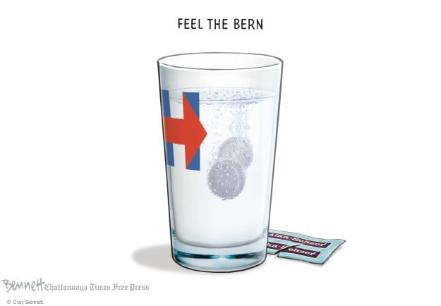 Clay Bennett  Clay Bennett's Editorial Cartoons 2016-02-08 presidential election